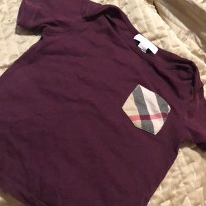 Other - Burberry kids Tshirt